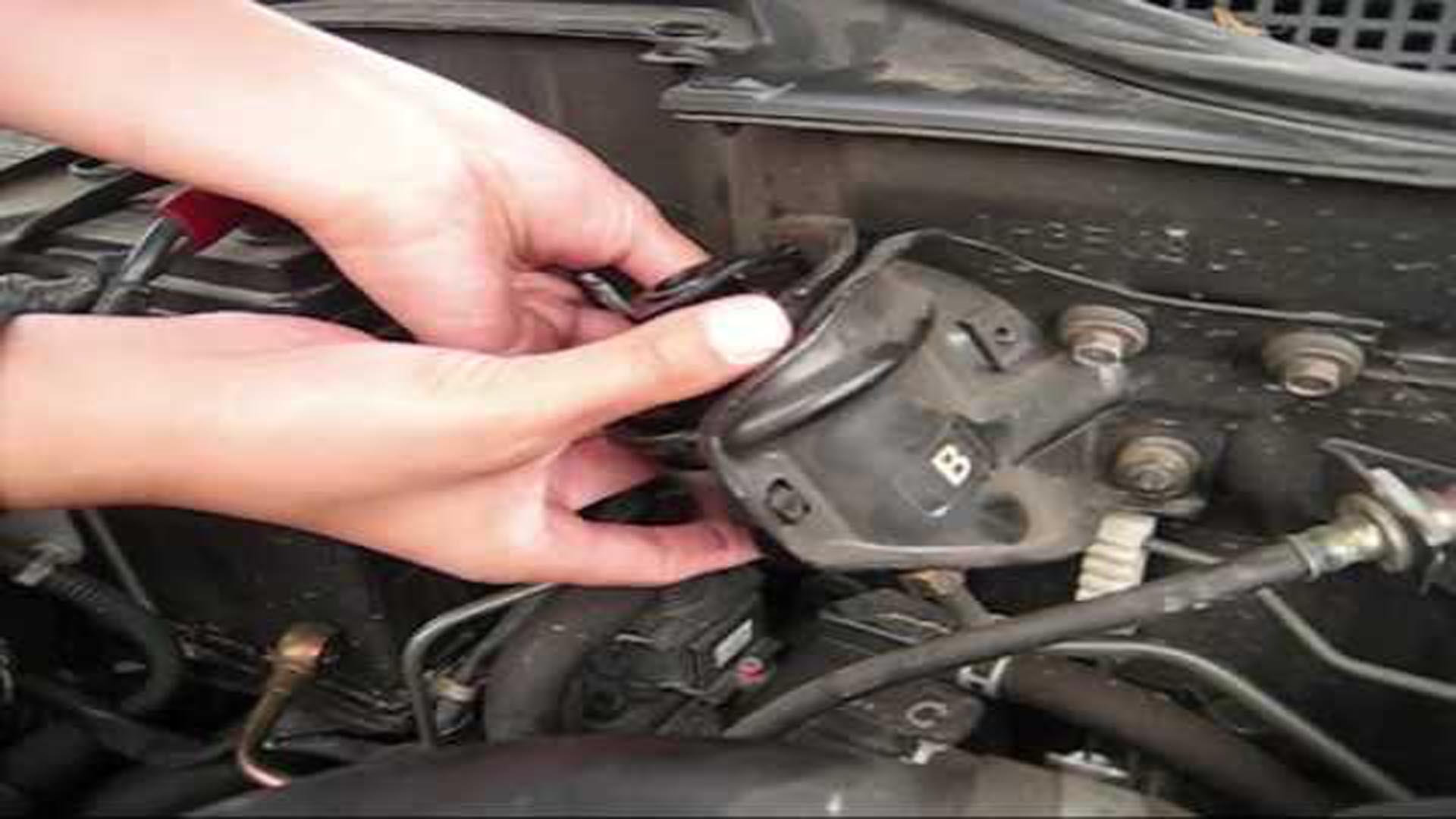 honda civic: how to replace fuel filter | honda-tech  honda-tech
