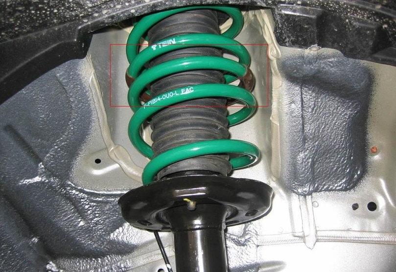 Shocks Vs Struts >> Honda Civic Coilovers vs. Lowering Springs | Honda-tech