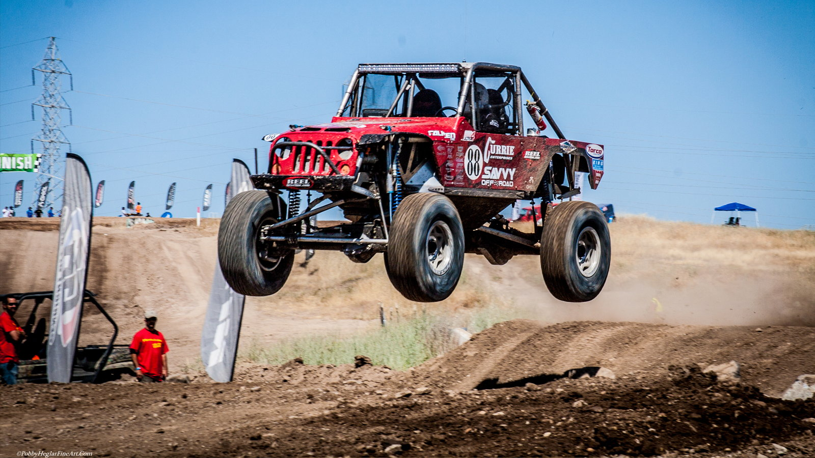 Jeep Modifications For the Off-Road Racing Circuit
