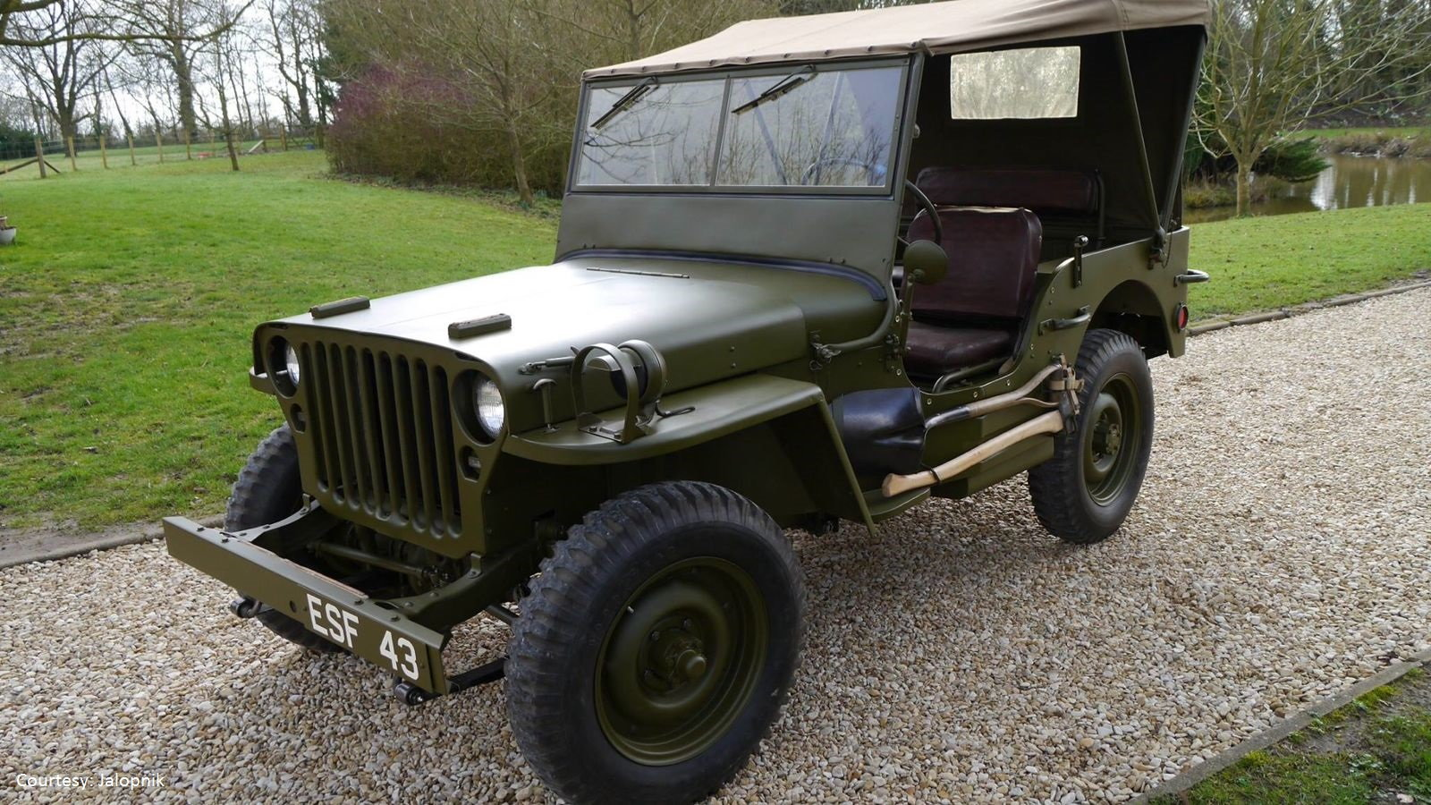 Jeep played a major role in WWII
