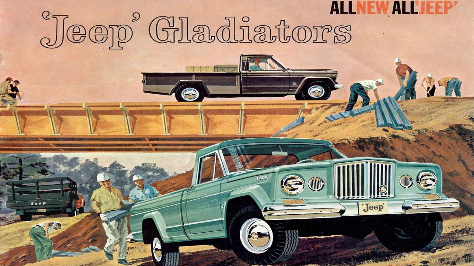 Jeep Gladiator, Handsome, Hardy