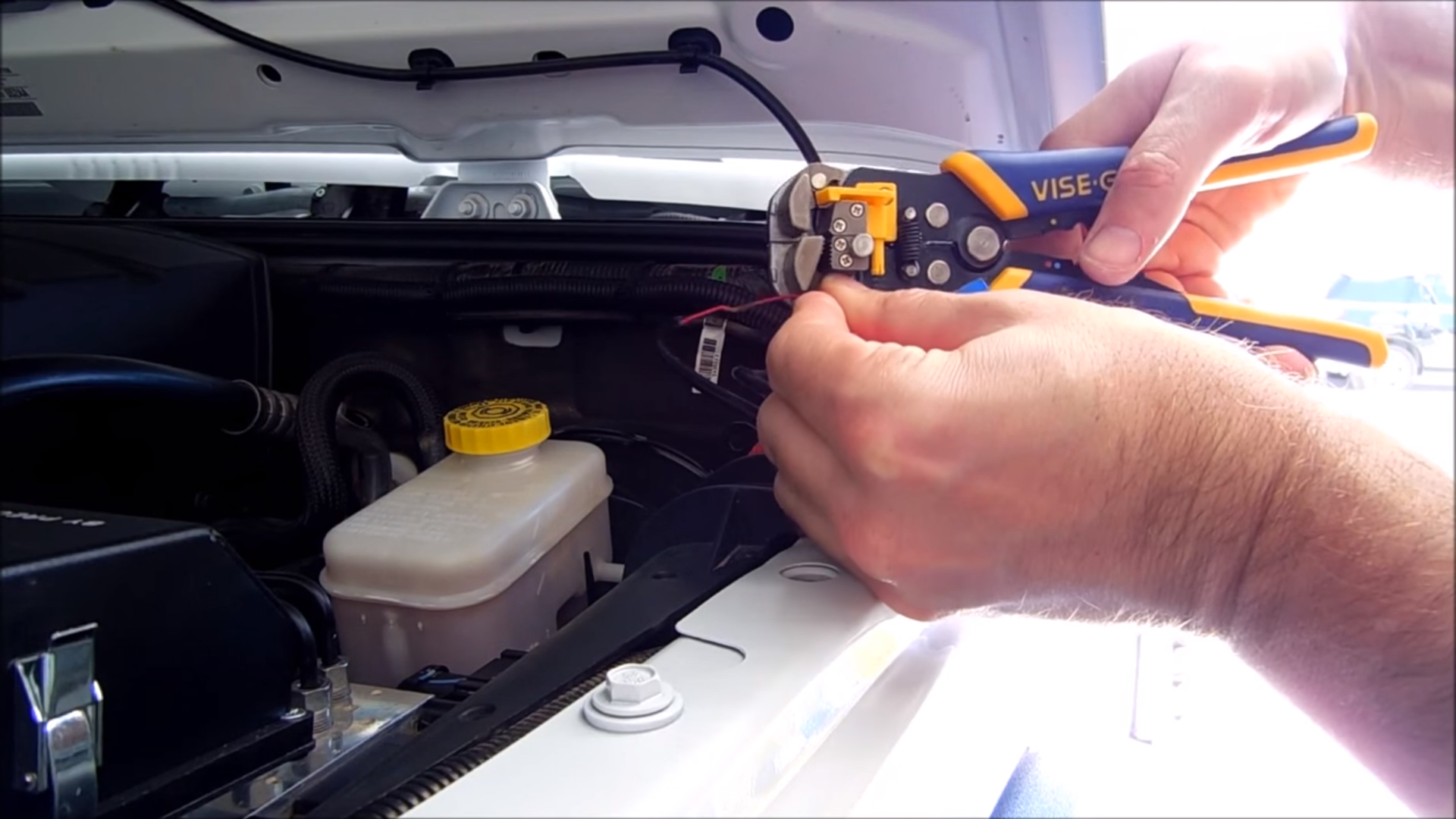 Jeep Wrangler Jk 2007 To Present How Install Rock Lights Forum 2004 Wiring Connector Crimp Wire Stripping