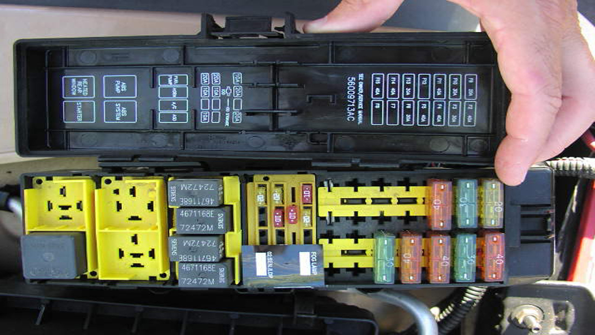 Jeep Wrangler JK: Fuse Box Diagram | Jk-forum