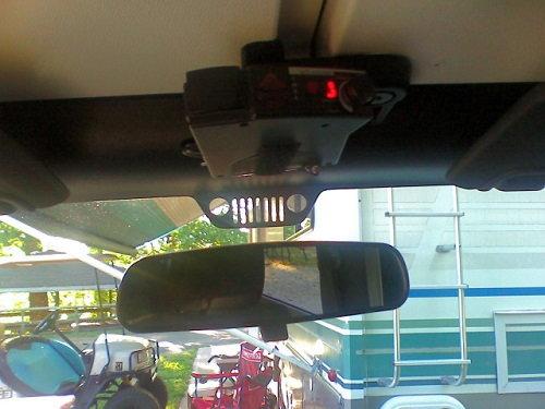 jeep wrangler jk  present   install radar detector jk forum