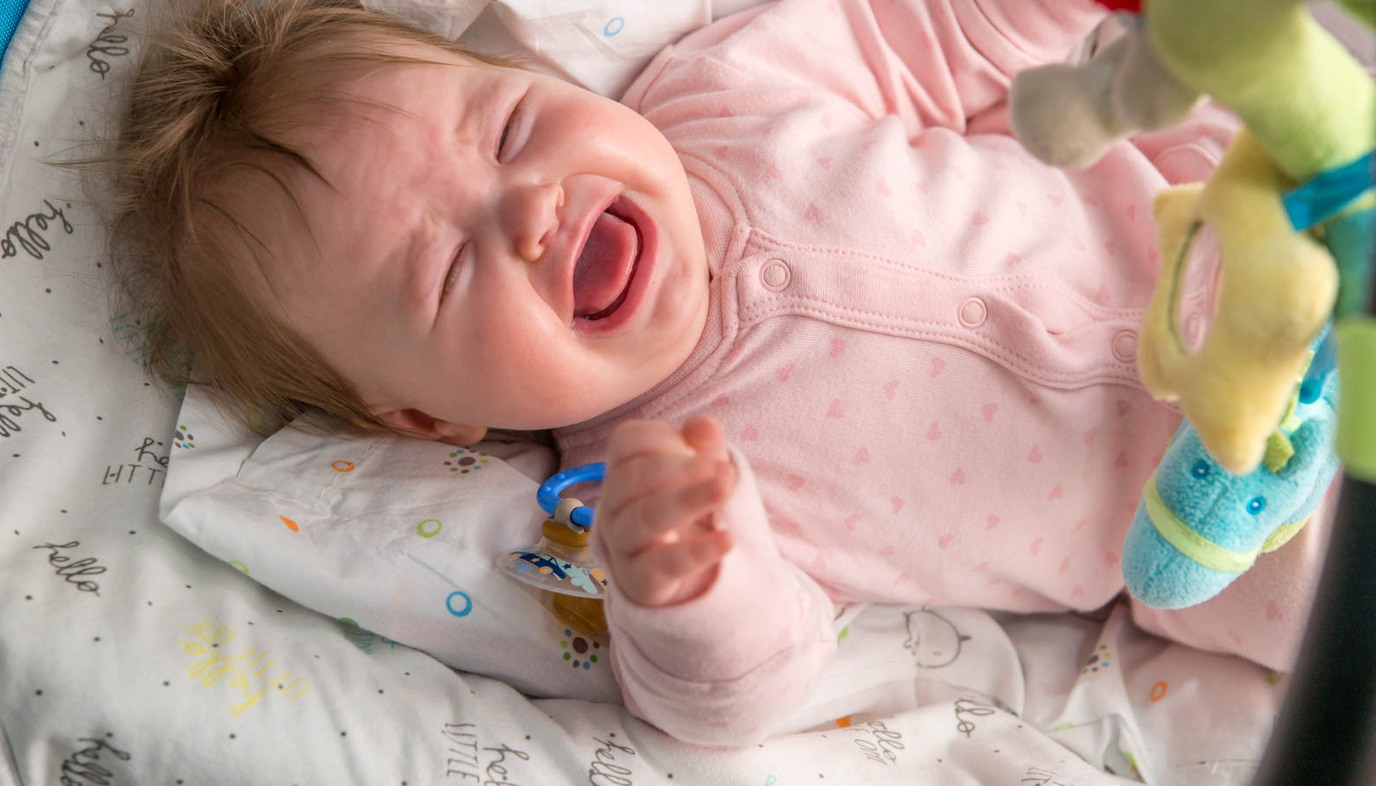baby with handkerchief 5 tips for dealing with nasal congestion in babies