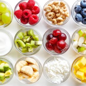 fruit in bowls