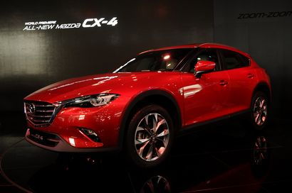 2017 Mazda CX-4 at Auto China 2016