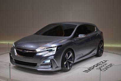 Impreza 5-door Concept at the 2015 Tokyo Motor Show