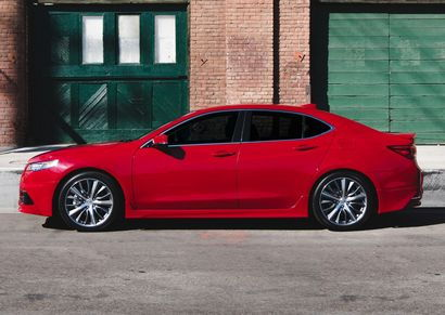 2017 Acura TLX with GT Package