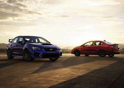 2018 Subaru WRX STI and WRX