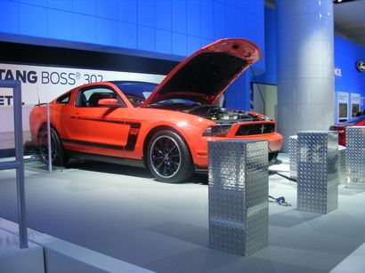 Mustang Boss 302 on the dyno