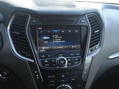 2016 Hyundai Santa Fe Sport AWD 2.0T center stack detail