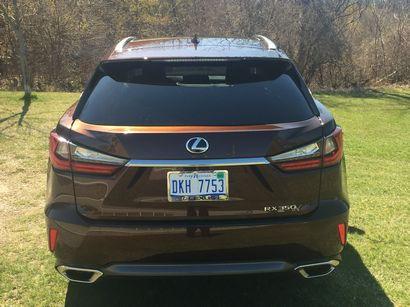 2016 Lexus RX 350 rear fascia detail