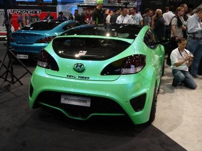 Hyundai Veloster Turbo Fox Concept