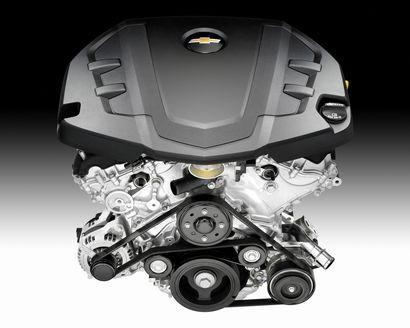 GM 3.6L LGX DOHC V-6 (Chevrolet Camaro)