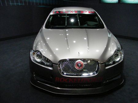 Jaguar XFR development