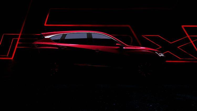 2018 Acura RDX Prototype teaser image