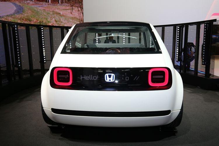 Honda Urban EV Concept rear fascia