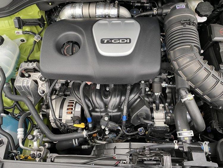 2020 Hyundai Kona Ultimate AWD 1.6-liter turbo Gamma petrol engine
