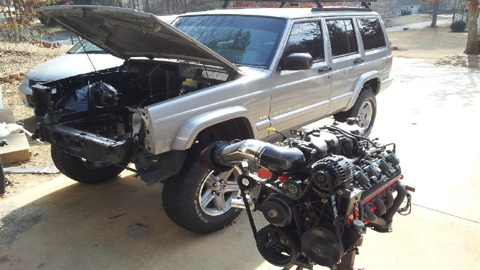 How to LS Swap an XJ Jeep Cherokee (photos) | Ls1tech