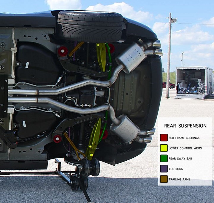 Chevrolet Camaro 2010 to 2015 Suspension Issues Diagnostic