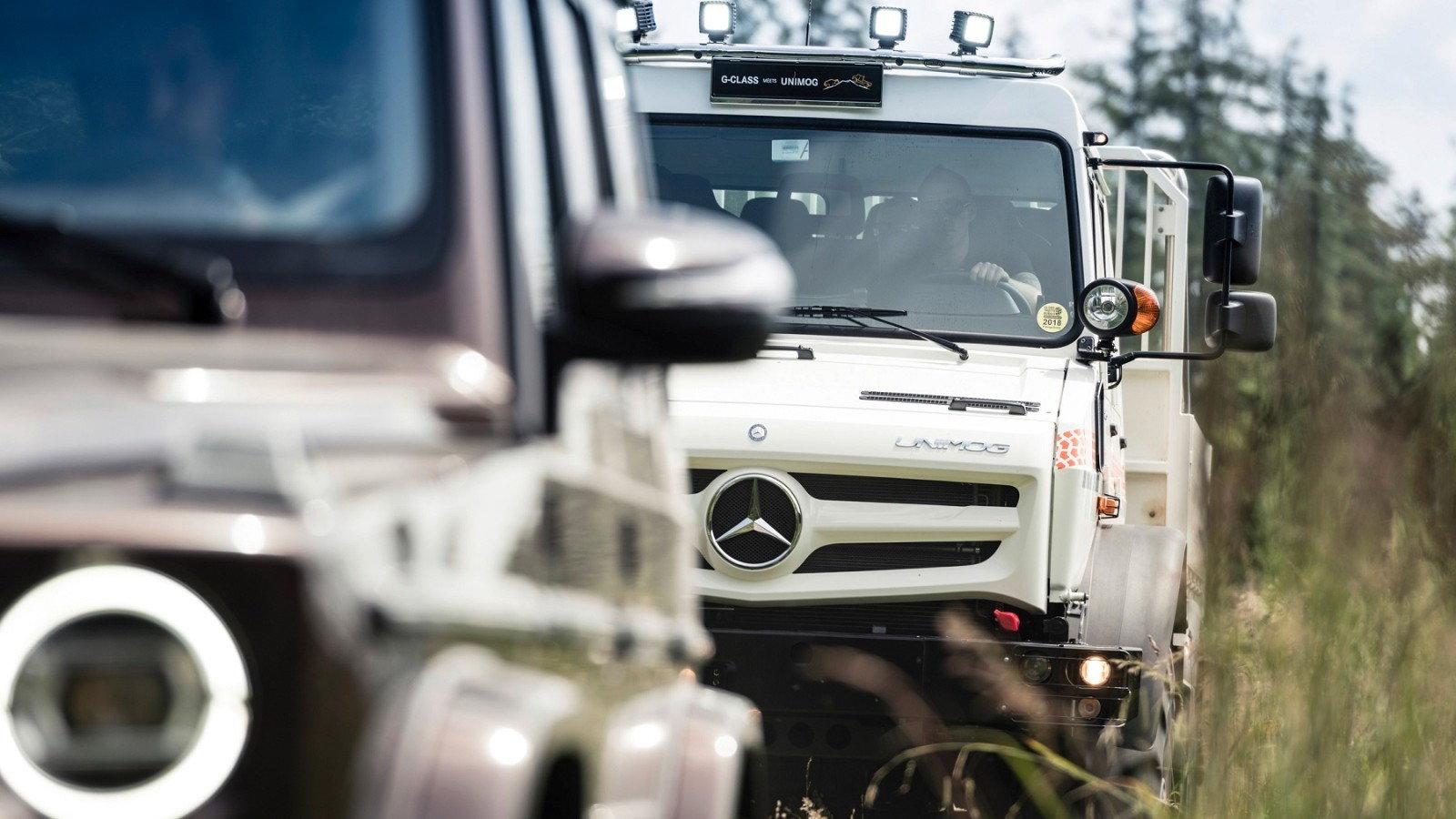 Unimog meets G-Class: A Summit of Mercedes-Benz's Off-Road