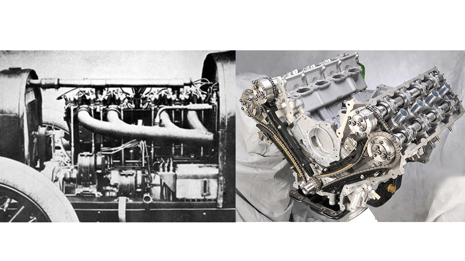 Multivalve Engine (1910)