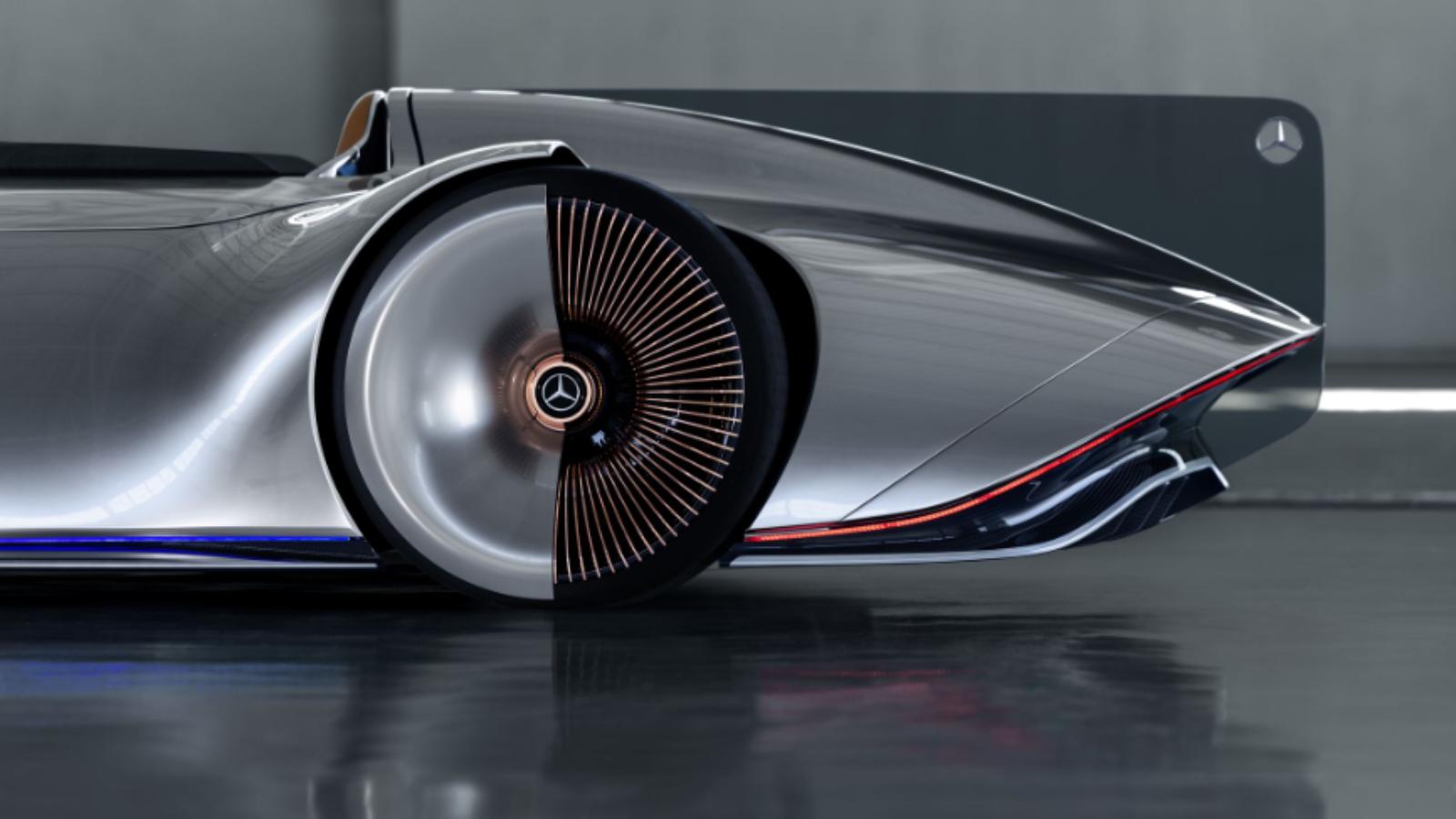 Mercedes-Benz Lofts Its Vision EQ Silver Arrow