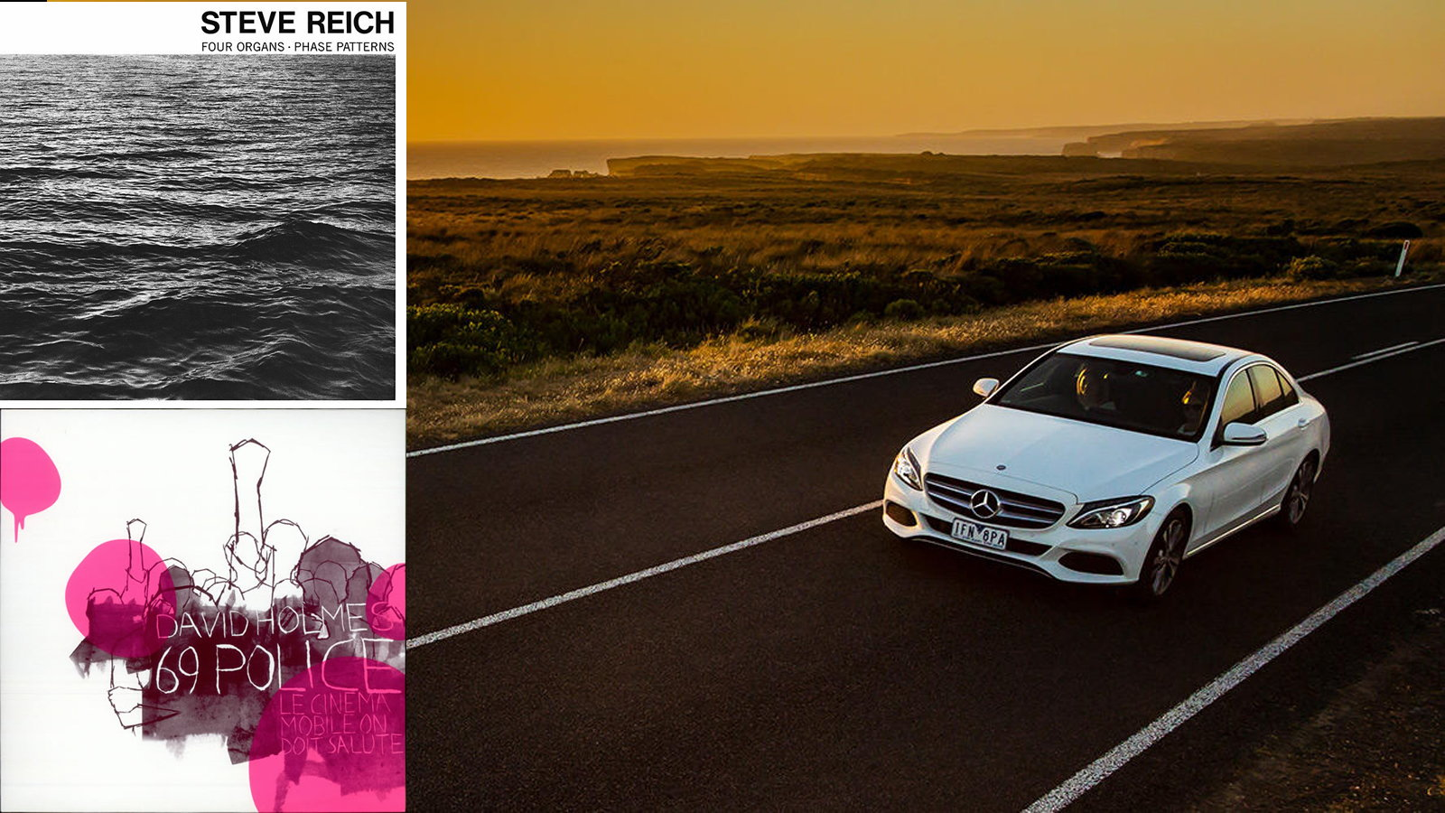 Quality Quasi-Electronic Driving Music for your Benz