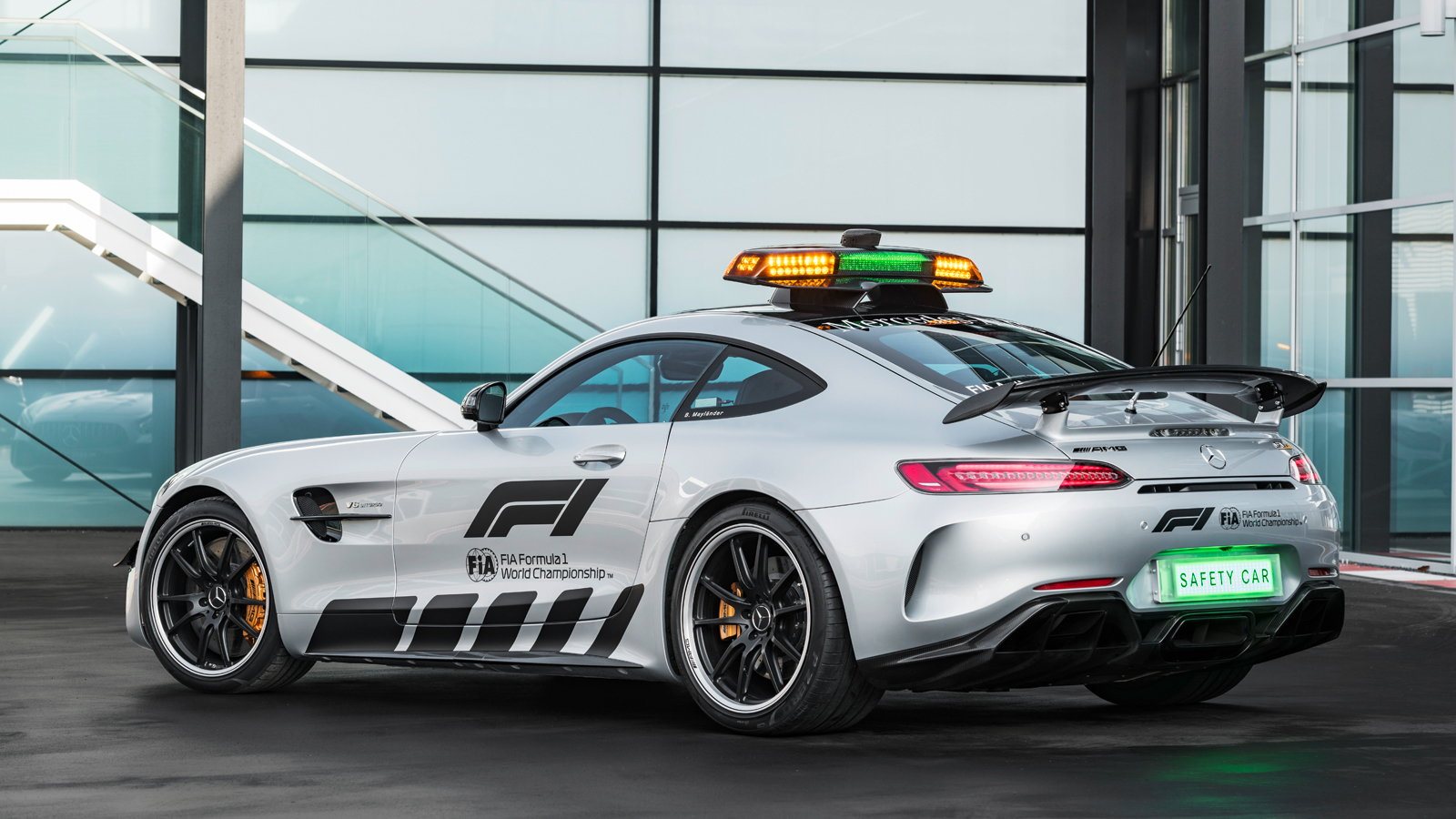 AMG GT R is One Helluva F1 Safety Car