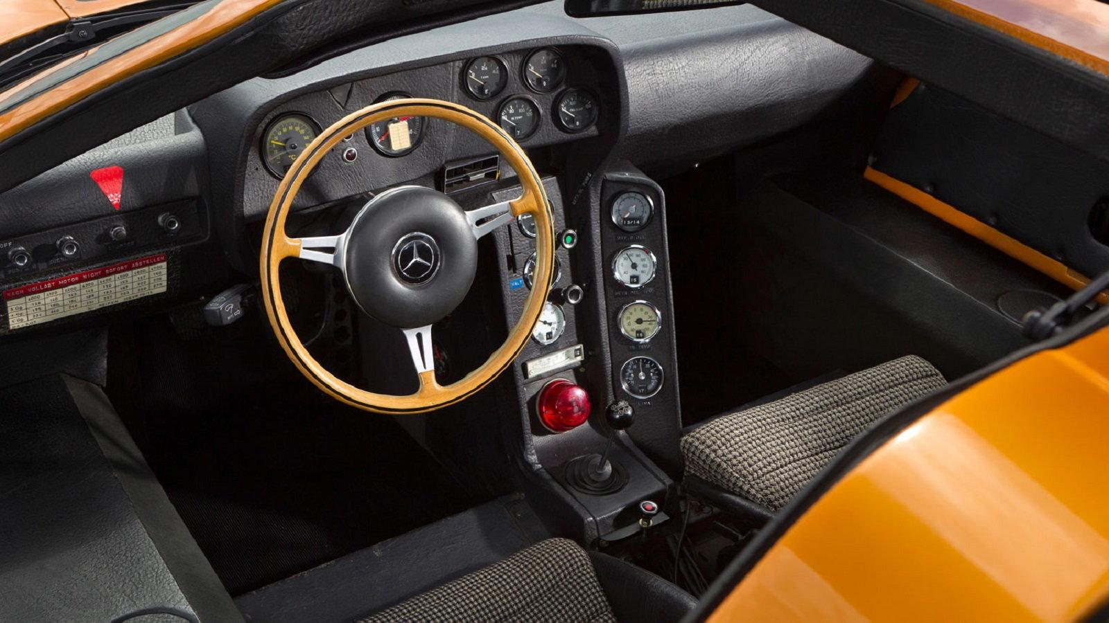 Mercedes C111 Concept Appears Again at Frankfurt Motor Show