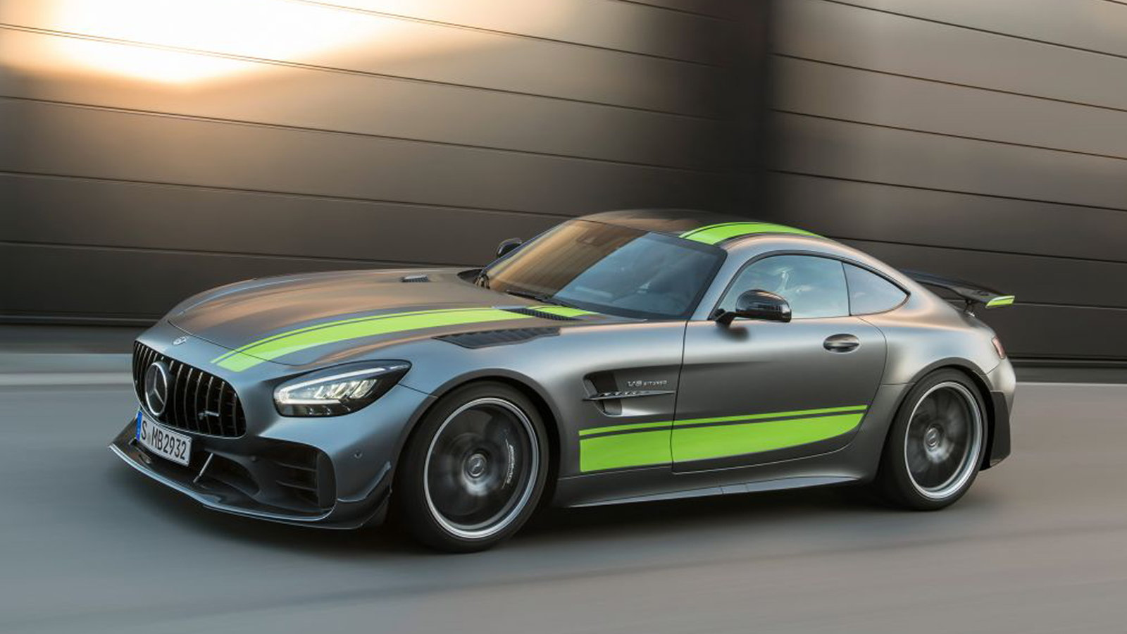 Mercedes-AMG GT Line Receives a Facelift