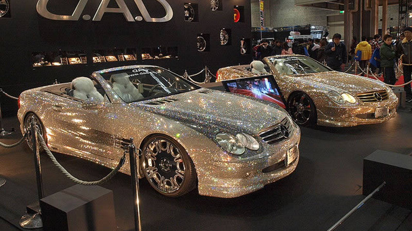 The Bling Covered Mercedes-Benz