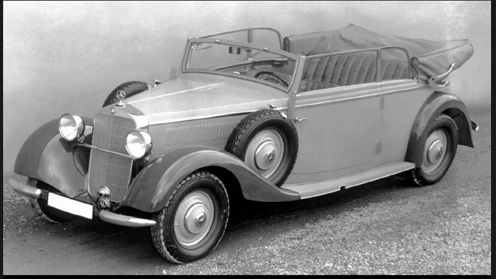 First Diesel Powered Passenger Automobile