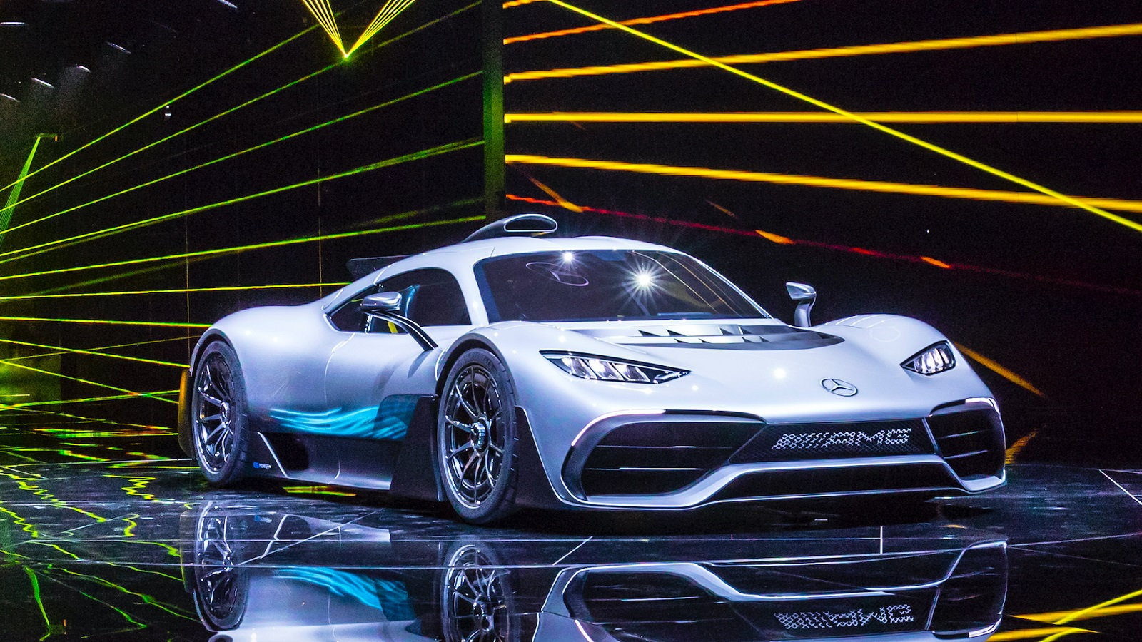The AMG Project One Hypercar Makes Its Debut
