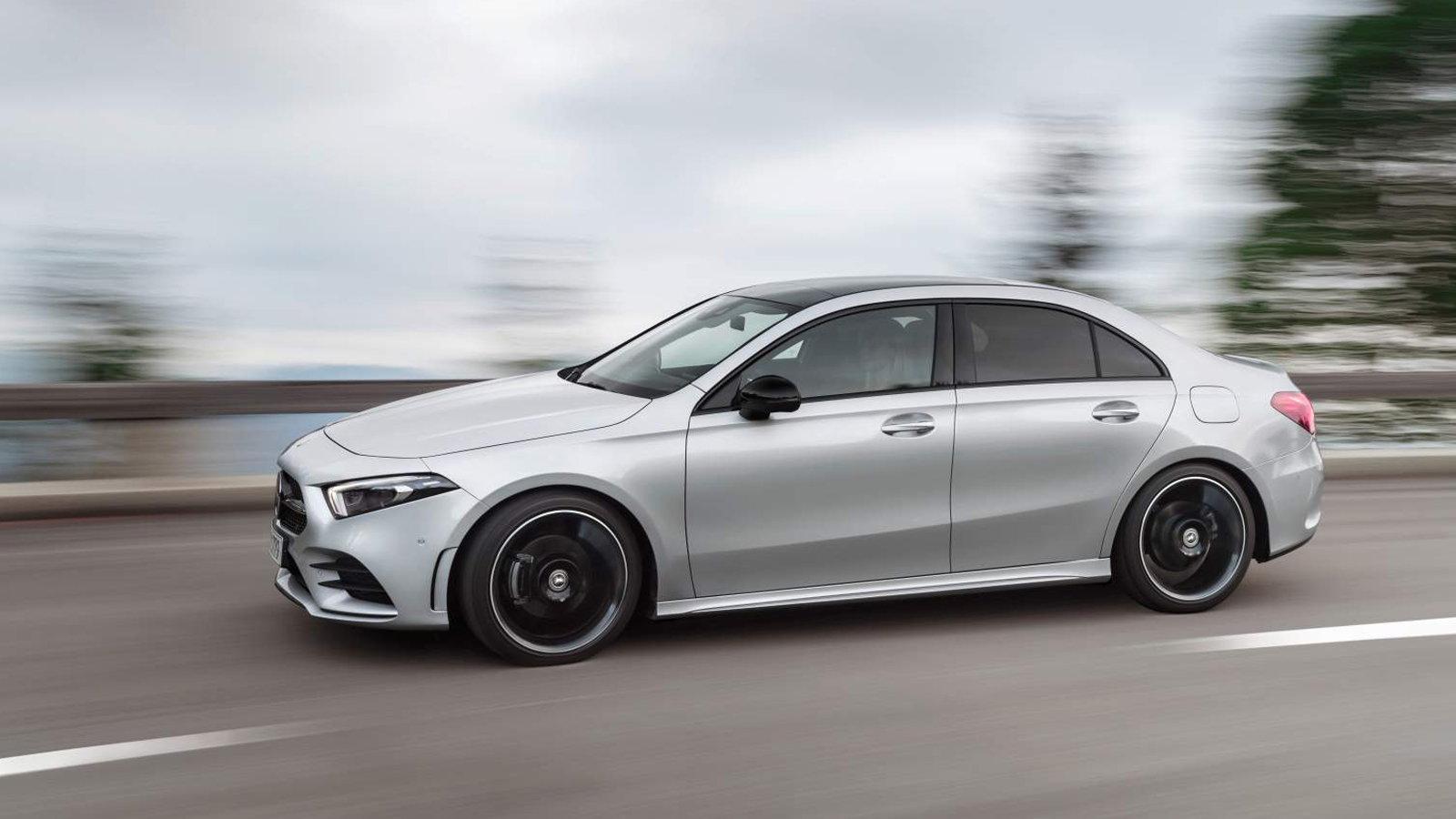 New A-Class Sedan is World's Most Aerodynamic Car