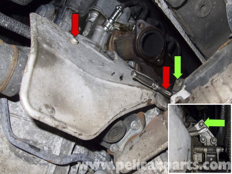 Mercedes Benz W211 E Class How To Replace Starter