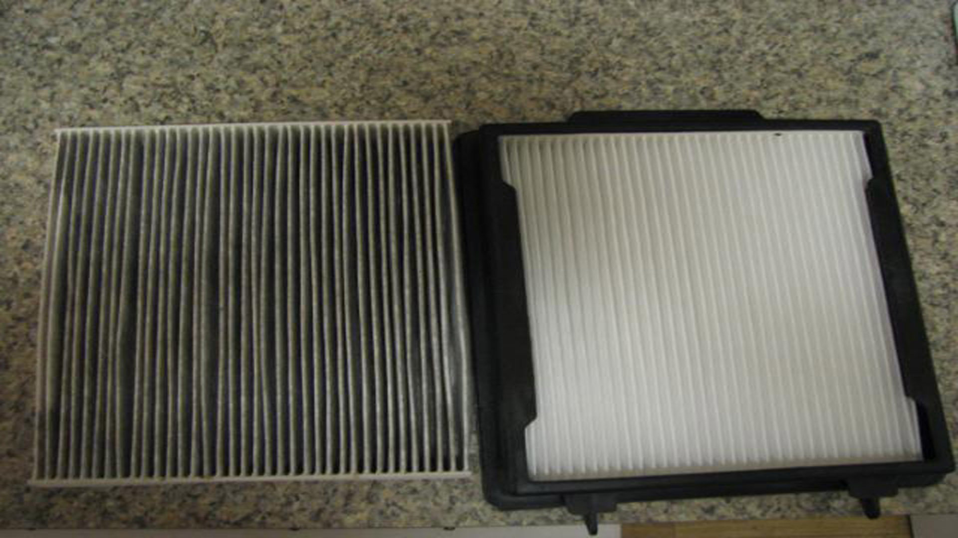 Ford mustang 2005 to 2014 how to change cabin air filter for Change cabin air filter