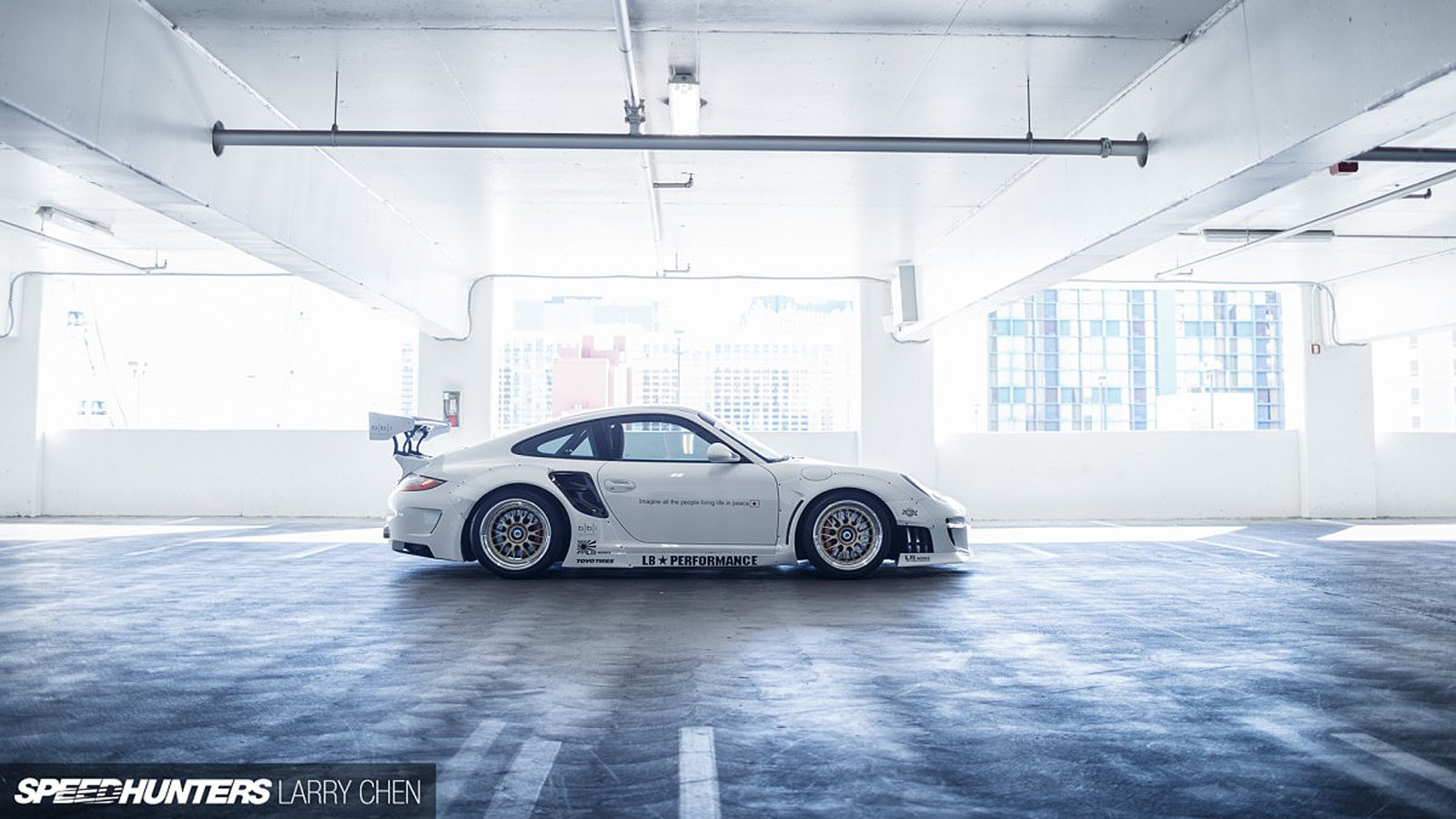 This 997 Doesn't Strut... It Liberty Walks