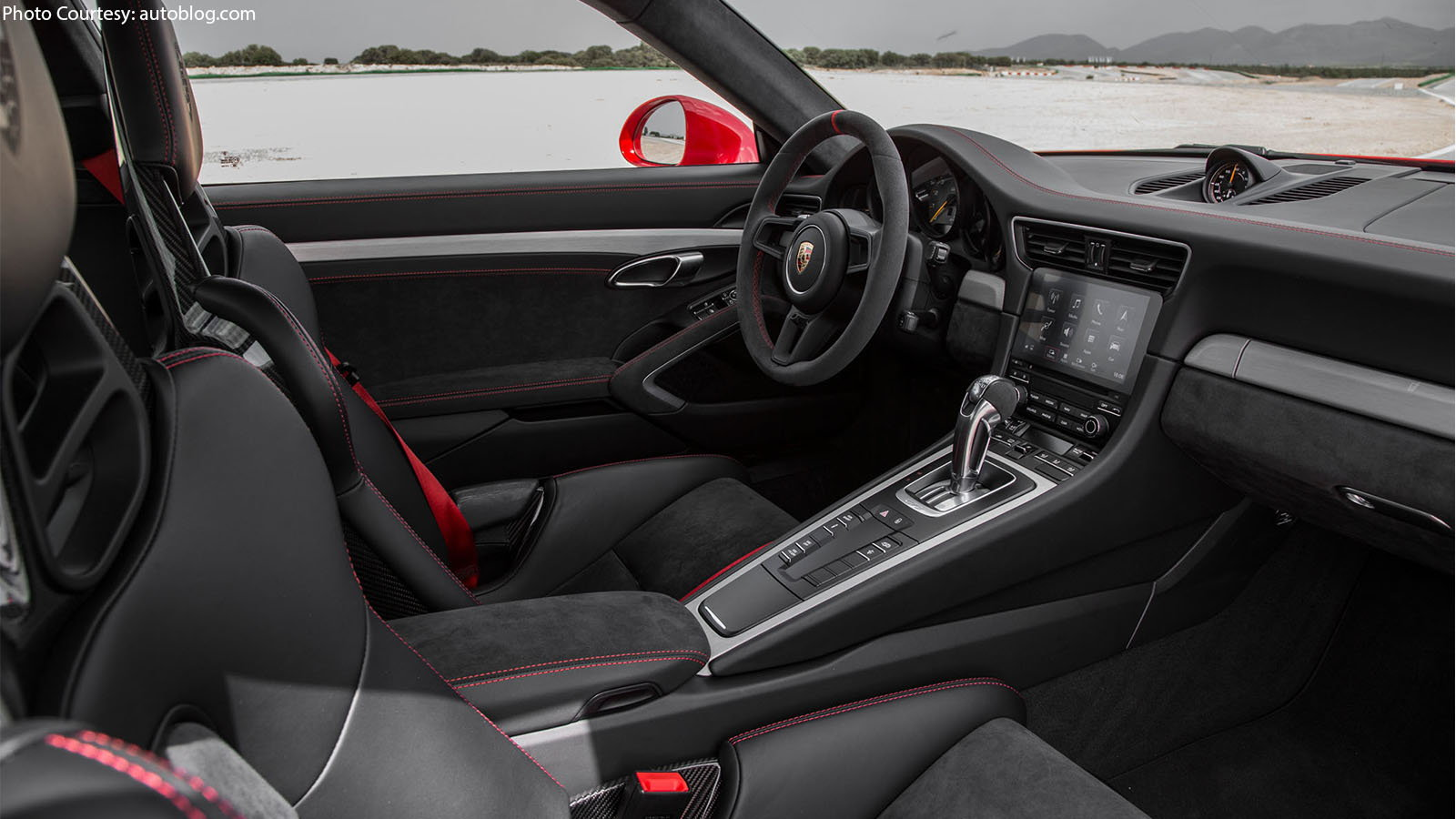 the interior of the 2018 porsche 911 gt3 is as pleasureful to be in as it has ever been the competition bucket seats receive off seat stripes