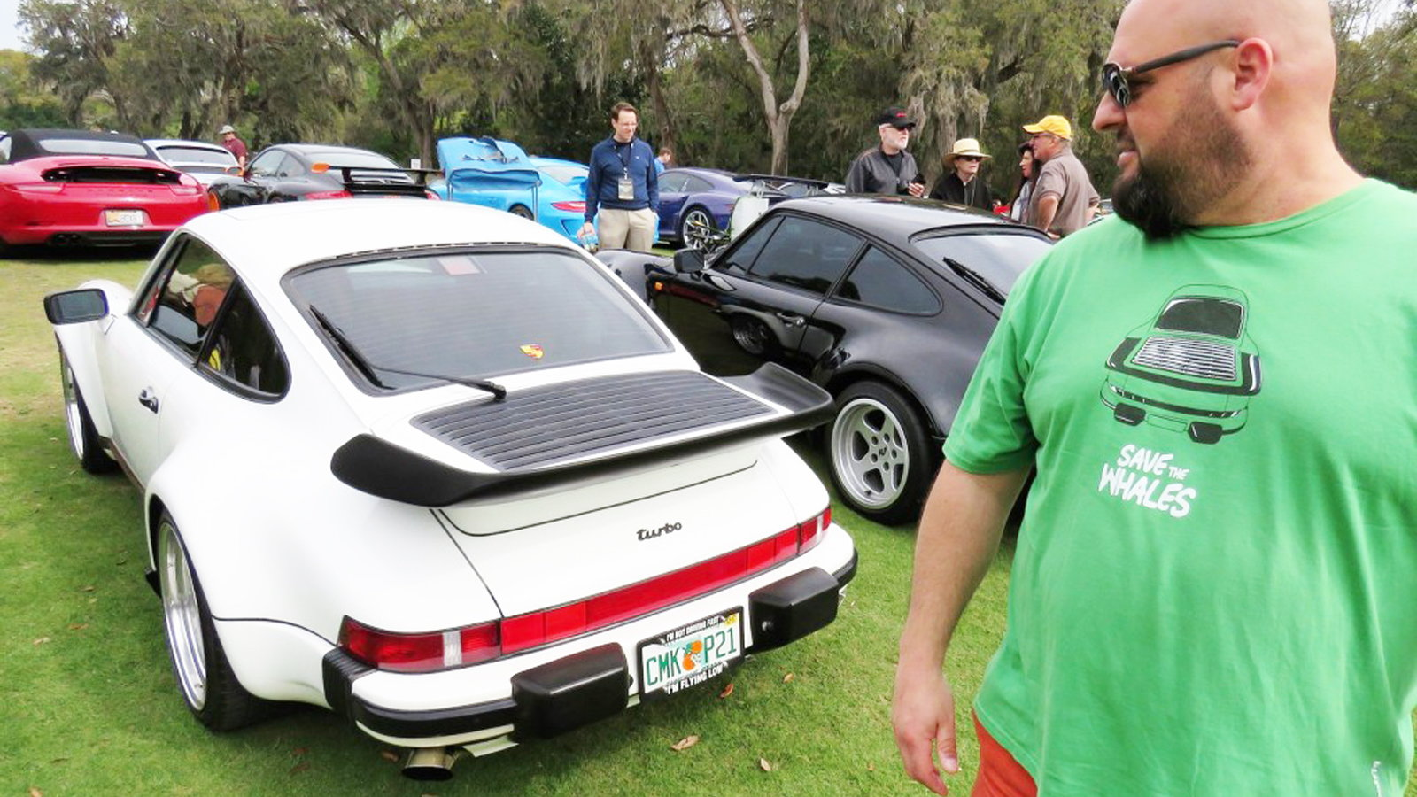 Porsches of all kinds