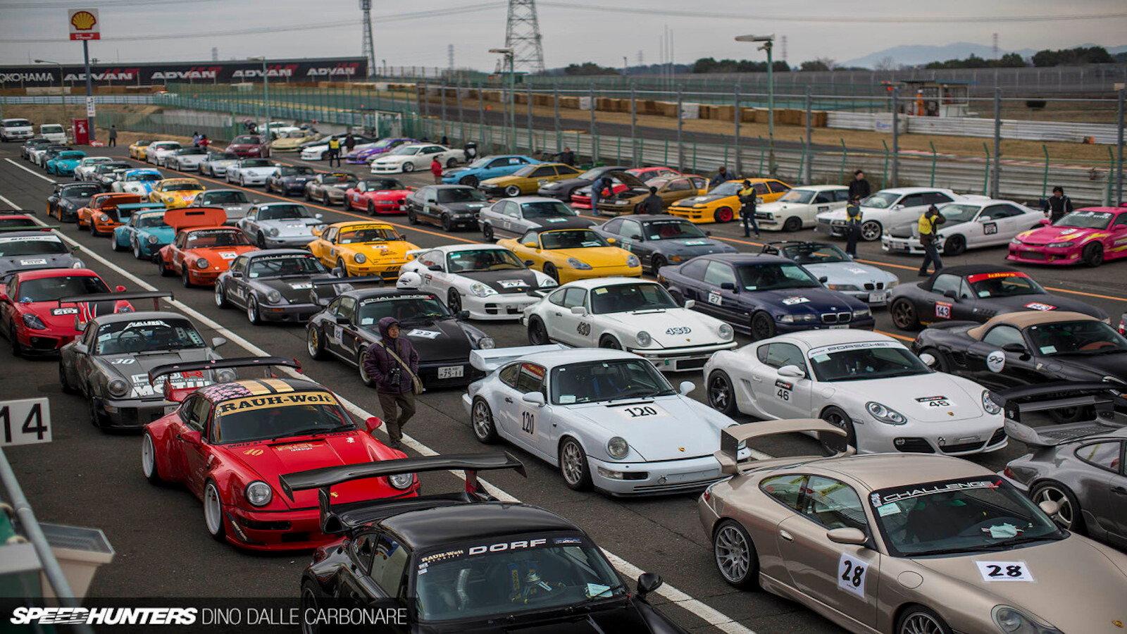 Idlers Converge on Tsukuba Circuit