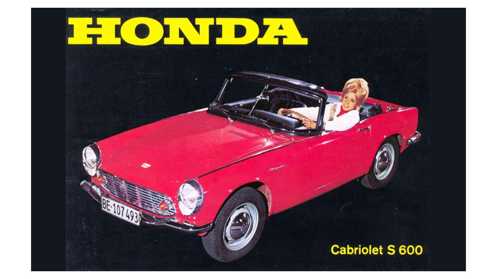 1964-66 Honda S600