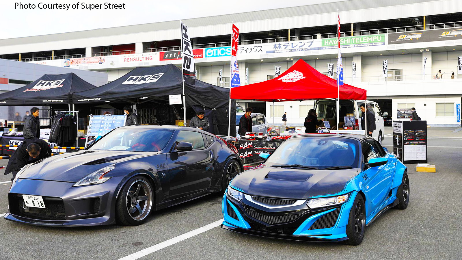 HKS Premium Day 2018 Went Down at Fuji Speedway