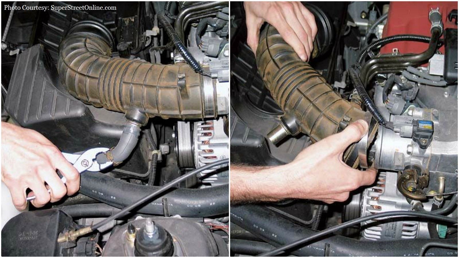 Remove Old Air Box Components