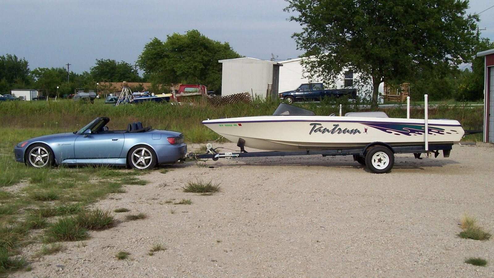 S2k Towing A Boat