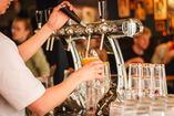 beer poured at a social establishment