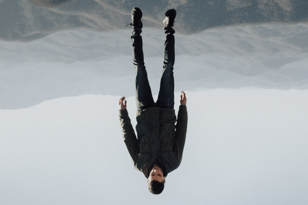 active addict levitating upside down