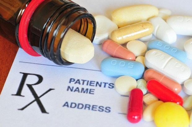 Spilled prescription drugs