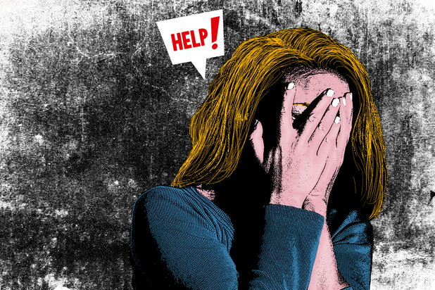 Woman who commits self-harm secretly pleads for help